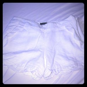 White Cynthia Rowely linen shorts